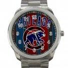 Chicago Cubs MLB Baseball Team Logo 2 Unisex Sport Metal Watch