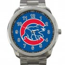 Chicago Cubs MLB Baseball Team Logo 3 Unisex Sport Metal Watch