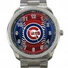Chicago Cubs MLB Baseball Team Logo 6 Unisex Sport Metal Watch