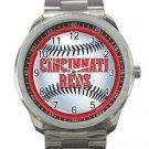 Cincinnati Reds MLB Baseball Team Logo 1 Unisex Sport Metal Watch