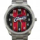 Cleveland Cavaliers NBA Basketball Team Unisex Sport Metal Watch