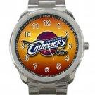 Cleveland Cavaliers NBA Basketball Team Logo Unisex Sport Metal Watch