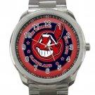 Cleveland Indians MLB Baseball Team Logo 4 Unisex Sport Metal Watch