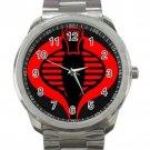 GI Joe Retaliation Cobra Logo 2 Unisex Sport Metal Watch