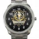 Dallas Mavericks NBA Basketball Team Logo 3 Unisex Sport Metal Watch