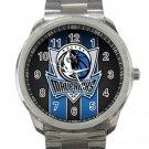 Dallas Mavericks NBA Basketball Team Logo 4 Unisex Sport Metal Watch