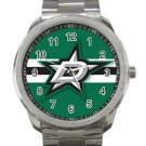 Dallas Stars NHL Ice Hockey Teams Logo 2 Unisex Sport Metal Watch