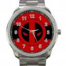 Deadpool Marvel Avengers Unisex Design 1 Sport Metal Watch