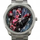 Deadpool Marvel Avengers Unisex Design 3 Sport Metal Watch