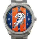 Denver Broncos NFL Football Team Logo 1 Unisex Sport Metal Watch