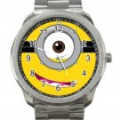 Despicable Me 2 Minion Design 1 Unisex Sport Metal Watch