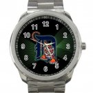 Detroit Tigers MLB Baseball Team Logo Unisex Sport Metal Watch