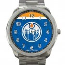 Edmonton Oilers NHL Ice Hockey Teams Unisex Sport Metal Watch