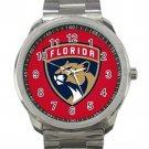 Florida Panthers NHL Ice Hockey Teams Unisex Sport Metal Watch