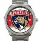 Florida Panthers NHL Ice Hockey Teams Logo Unisex Sport Metal Watch