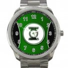 Green Lantern Superhero Logo 1  Unisex Sport Metal Watch