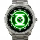 Green Lantern Superhero Logo 2  Unisex Sport Metal Watch