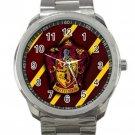 Harry Potter Hogwarts Gryffindor Crest Unisex Sport Metal Watch