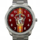 Harry Potter Hogwarts Gryffindor Crest Design 1 Unisex Sport Metal Watch