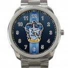 Harry Potter Hogwarts Ravenclaw Crest Logo 1 Unisex Sport Metal Watch