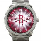 Houston Rockets NBA Basketball Team Unisex Sport Metal Watch