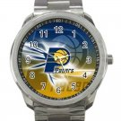 Indiana Pacers NBA Basketball Team Unisex Sport Metal Watch