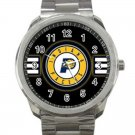 Indiana Pacers NBA Basketball Team Logo Unisex Sport Metal Watch