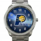 Indiana Pacers NBA Basketball Team Logo 1-Unisex Sport Metal Watch