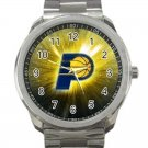Indiana Pacers NBA Basketball Team Logo 2-Unisex Sport Metal Watch