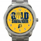 Indiana Pacers NBA Basketball Team Logo 3-Unisex Sport Metal Watch