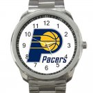 Indiana Pacers NBA Basketball Team Logo 4-Unisex Sport Metal Watch