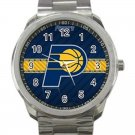 Indiana Pacers NBA Basketball Team Logo 5-Unisex Sport Metal Watch