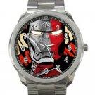 Iron Man Avengers Design 1-Unisex Sport Metal Watch