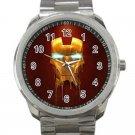 Iron Man Avengers Design 3-Unisex Sport Metal Watch