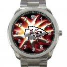 Kansas City Chiefs NFL Football Team Design 2-Unisex Sport Metal Watch