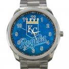 Kansas City Royals MLB Baseball Team Unisex Sport Metal Watch