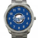 Kansas City Royals MLB Baseball Team Logo 4-Unisex Sport Metal Watch