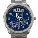 Kansas City Royals MLB Baseball Team Logo 5-Unisex Sport Metal Watch