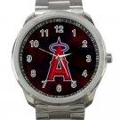 Los Angeles Angels of Anaheim MLB Baseball Team Logo 2-Unisex Sport Metal Watch