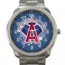 Los Angeles Angels of Anaheim MLB Baseball Team Logo 4-Unisex Sport Metal Watch
