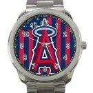 Los Angeles Angels of Anaheim MLB Baseball Team Logo 5-Unisex Sport Metal Watch