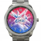 Los Angeles Clippers NBA Basketball Team Unisex Sport Metal Watch
