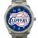 Los Angeles Clippers NBA Basketball Team Logo Unisex Sport Metal Watch