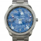 Los Angeles Dodgers MLB Baseball Team Unisex Sport Metal Watch