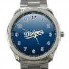 Los Angeles Dodgers MLB Baseball Team Logo Design 3 Unisex Sport Metal Watch