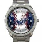 Los Angeles Dodgers MLB Baseball Team Logo Design 5 Unisex Sport Metal Watch