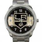 Los Angeles Kings NHL Ice Hockey Teams Unisex Sport Metal Watch