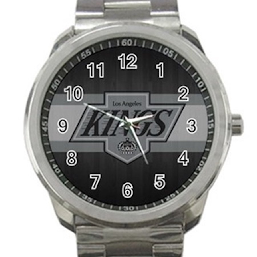Los Angeles Kings NHL Ice Hockey Teams Unisex Sport Metal Watch