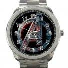 Marvel Avengers Shield Logo Unisex Sport Metal Watch