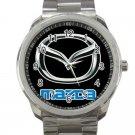 Mazda Car Logo Unisex Sport Metal Watch